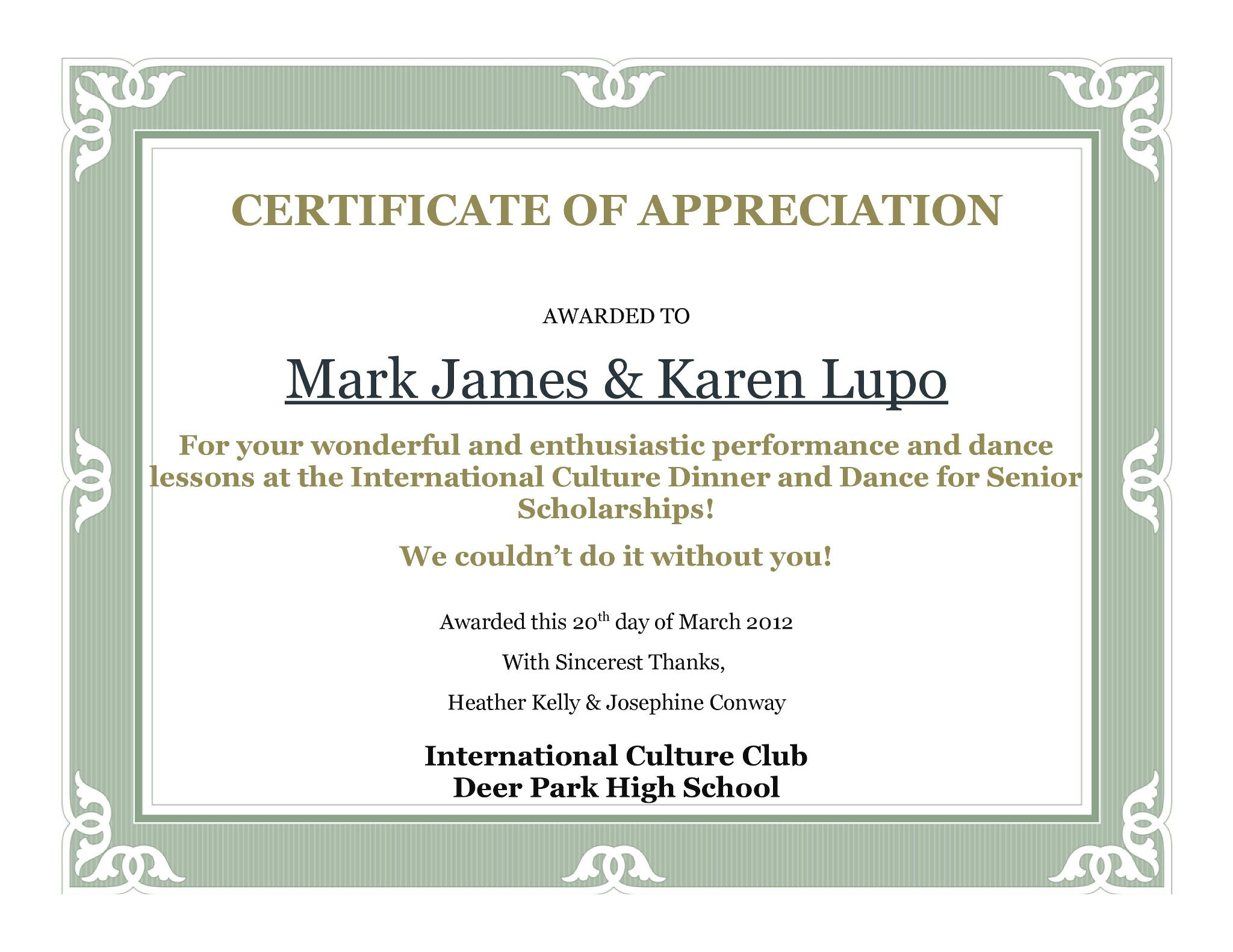 Dance education1 Mark & Karen
