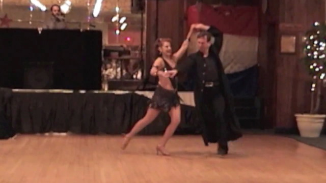 salsa, tango, lindy, Ballroom entertainers find